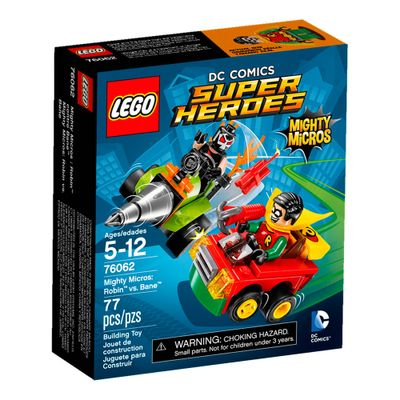 76062 - LEGO Super Heroes - DC Comics - Mighty Micros - Robin Vs Bane