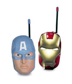 Walkie-Talkie---Marvel-Avengers---Capitao-America-e-Iron-Man---New-Toys