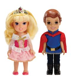 Pack-2-Bonecas---Disney-My-First-Princess---Casais-Encantados---Aurora-e-Principe-Phillip---New-Toys