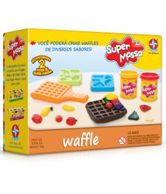 Massa-de-Modelar---Super-Massa---Moldes-de-Waffles---Estrelas