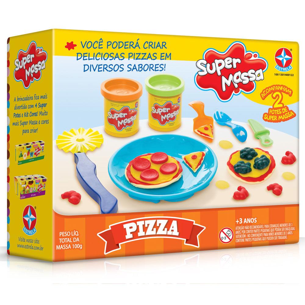 Massa de Modelar - Super Massa - Pizza - Estrela
