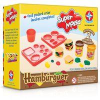 Massa-de-Modelar---Super-Massa---Moldes-de-Hamburger---Estrela