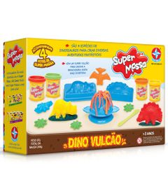 Massa-de-Modelar---Super-Massa---Dino-Vulcao---Estrela