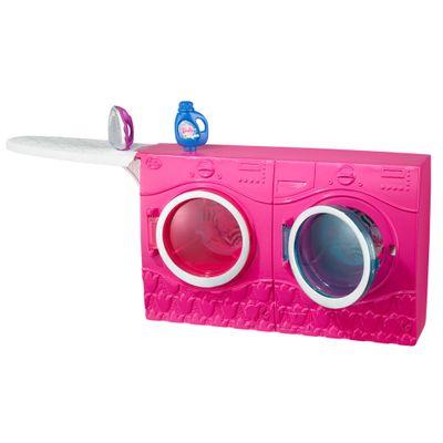 Acessórios para Boneca - Móveis da Barbie - Lavanderia - Mattel