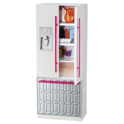Acessórios para Boneca - Móveis da Barbie - Geladeira - Mattel