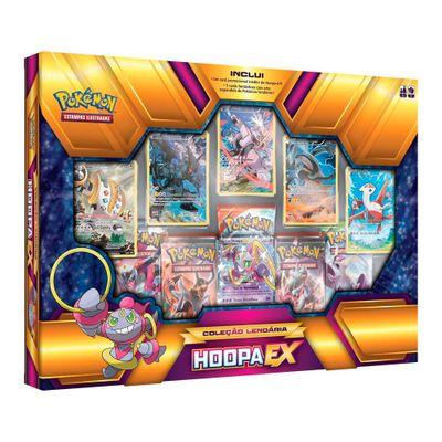 Jogo Deluxe - Box Pokémon - Coleção Lendários - Hoopa EX - Copag