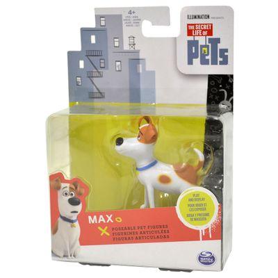 Mini Figura Articulada 10 cm - Pets - A Vida Secreta dos Bichos - Max - Sunny
