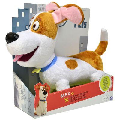 Pelúcia com Sons - Pets - A Vida Secreta dos Bichos - Max - Sunny