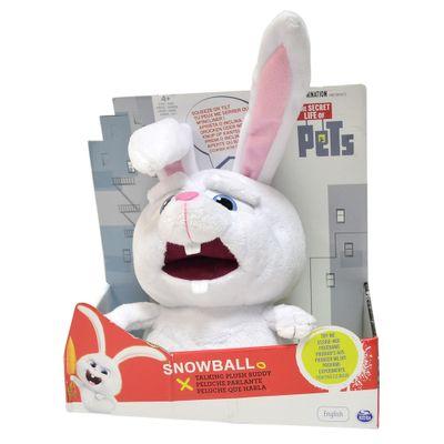 Pelúcia com Sons - Pets - A Vida Secreta dos Bichos - Snowball - Sunny