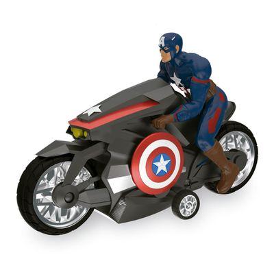 Moto de Fricção - Marvel - Capitão América - Guerra Civil -  Toyng - Disney