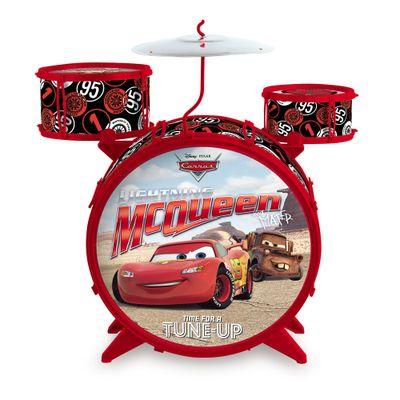 Bateria Acústica - Disney Cars - Relâmpago McQueen - Toyng