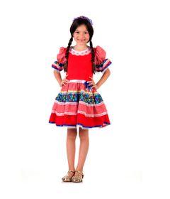 Fantasia-Infantil---Caipira-Chic---Vermelho---Sulamericana