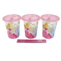 Copos-com-Canudo-300-ml---First-Years---Disney-Princesas---Girotondo