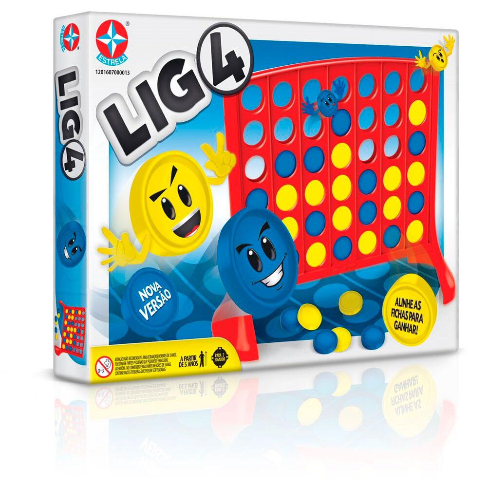 Jogo Lig4 - Nova Edição - Estrela