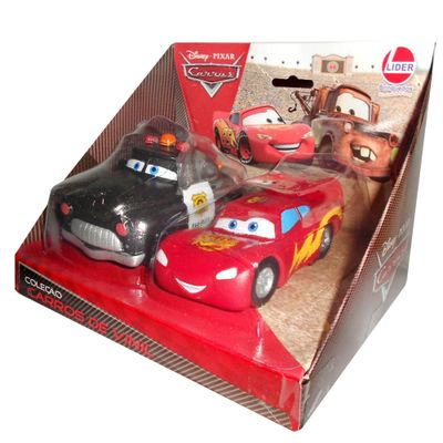 carros-de-vinil-sheriff-e-relampago-mc-queen-disney-cars-lider