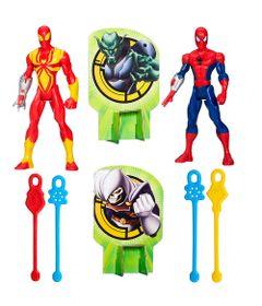 Exclusivo-Mega-Fabrica---Kit-com-2-Bonecos-Lancadores-de-Teia---Marvel-Ultimate-Spider-Man-Web-Warriors---Hasbro