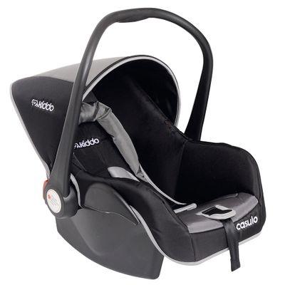 Bebê Conforto De 0 à 13 Kg - Casulo Preto e Cinza - Kiddo