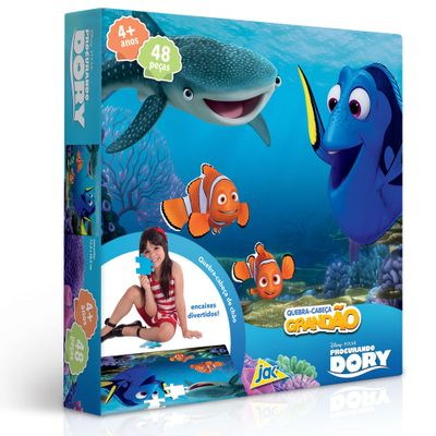 Quebra-Cabeça Grandão - 48 Peças - Procurando Dory - Disney - Toyster
