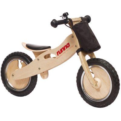 Bicicleta ARO 12 - Runna Bike - Preta - Fern