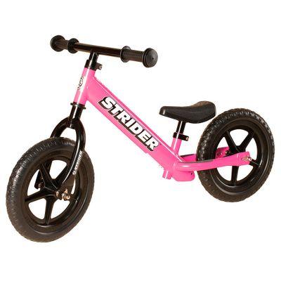 Bicicleta ARO 12 - Stride Bike - Rosa - Fern