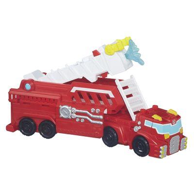 Figura - Playskool Heroes - Transformers Rescue Bots - Heatwave Caminhão Bombeiro - Hasbro