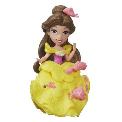 Mini Boneca com Acessórios - Disney Princesas - Little Kingdom - Bela - Hasbro