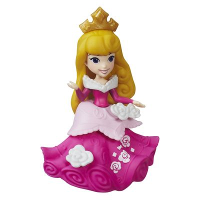 Mini-Boneca-com-Acessorios---Disney-Princesas---Little-Kingdom---Aurora---Hasbro
