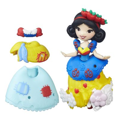 Mini-Boneca-com-Vestidos---Disney-Princesas---Little-Kingdom---Branca-de-Neve---Hasbro
