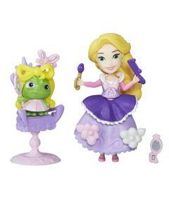 Mini-Boneca-com-Acessorios---Disney-Princesas---Little-Kingdom---Rapunzel-com-Cadeirinha---Hasbro