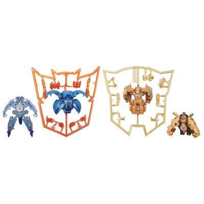 Bonecos Conjunto 4 Mini Figuras Transformers Rescue In Disguise Mini Cons Serie 3 Hasbro