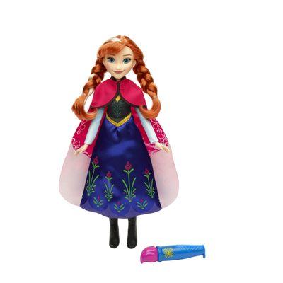 Boneca Articulada - Disney Frozen - Vestidos Mágicos - Princesa Anna - Hasbro