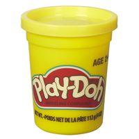 Massa-de-Modelar---Play-Doh---Potes-Individuais-110-grs---Amarelo---Hasbro