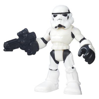 Mini Figura Articulada - Playskool Heroes - Star Wars - Stormtrooper - Hasbro - Disney