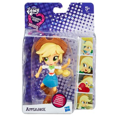 Mini Boneca Equestrial Girls Articulada - My Little Pony - Applejack - Hasbro