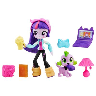 Mini-Boneca-Equestrial-Girls-com-Acessorios---My-Little-Pony---Twilight-Sparkle---Hasbro