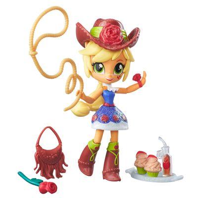 Mini Boneca Equestrial Girls com Acessórios - My Little Pony - Applejack - Hasbro