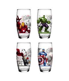 Conjunto-de-Copos-Decorados---430-ml---04-Pecas---Avengers---Marvel---Nadir-Figueiredo