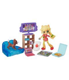 Cenario-com-Mini-Equestria-Girls---My-Little-Pony---Colecao-de-Jogos-Festa-do-Pijama---Applejack---Hasbro