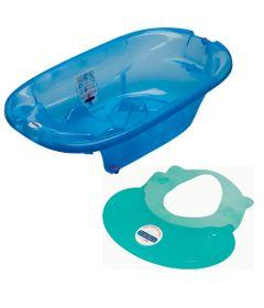 Banheira-Onda-Azul-e-Protetor-de-Banho-Hippo---Peg-Perego