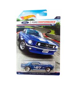 Veiculos-Hot-Wheels---Serie-Classicos-Ford-Mustang-Racing---67-Ford-Mustang-Coupe---Mattel