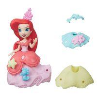 Mini-Boneca-com-Vestidos---Disney-Princesas---Little-Kingdom---Ariel---Hasbro