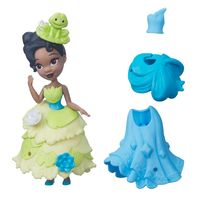 Mini-Boneca-com-Vestidos---Disney-Princesas---Little-Kingdom---Tiana---Hasbro