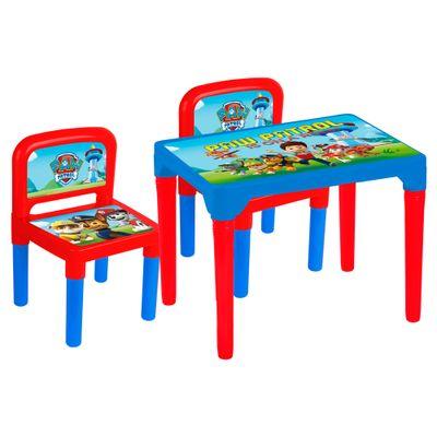 Mesa com 2 Cadeiras - Patrulha Canina - Multibrink