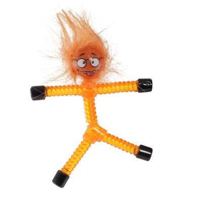 Mini-Figura-Magnetica---Magno-Z---Laranja---Babu---DTC