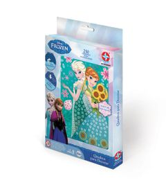Conjunto-de-Artes-e-Atividades---Quadros-Decorativos---Disney-Frozen---Estrela