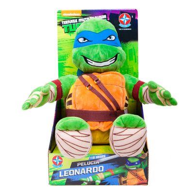 Pelúcia 45 cm - Tartarugas Ninja - Leonardo - Estrela