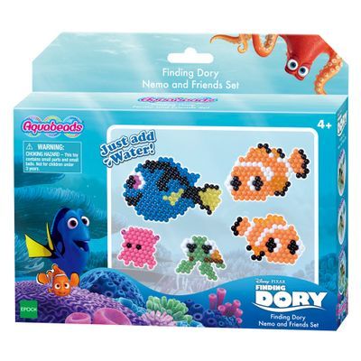 Kit de Montagem Aquabeads - Procurando Dory - Disney - Nemo e Amigos - Epoch