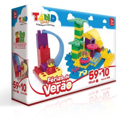 Blocos de Montar - Tand Kids - Férias de Verão com Peças em EVA - Toyster