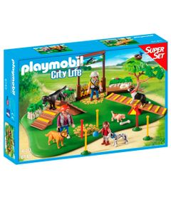 Playmobil---City-Life---Super-Set---Adestradores---6145---Sunny