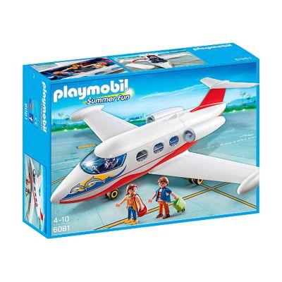 Playmobil - Summer Fun - Avião com Passageiros - 6081 - Sunny